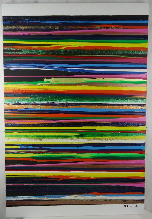 Stripes 099. Original art by Phil Pierre