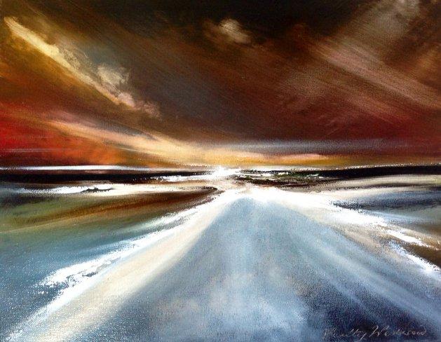 Towards Us. Original art by Verity Westwood