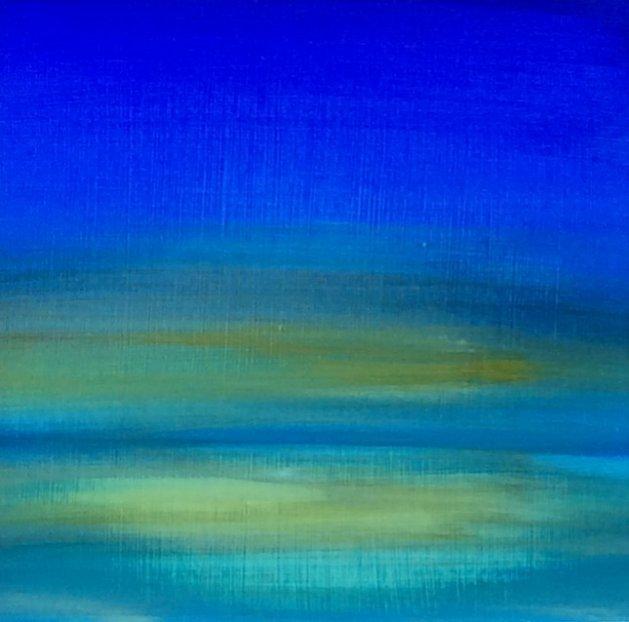 Blue Scene. Original art by Andy Nash