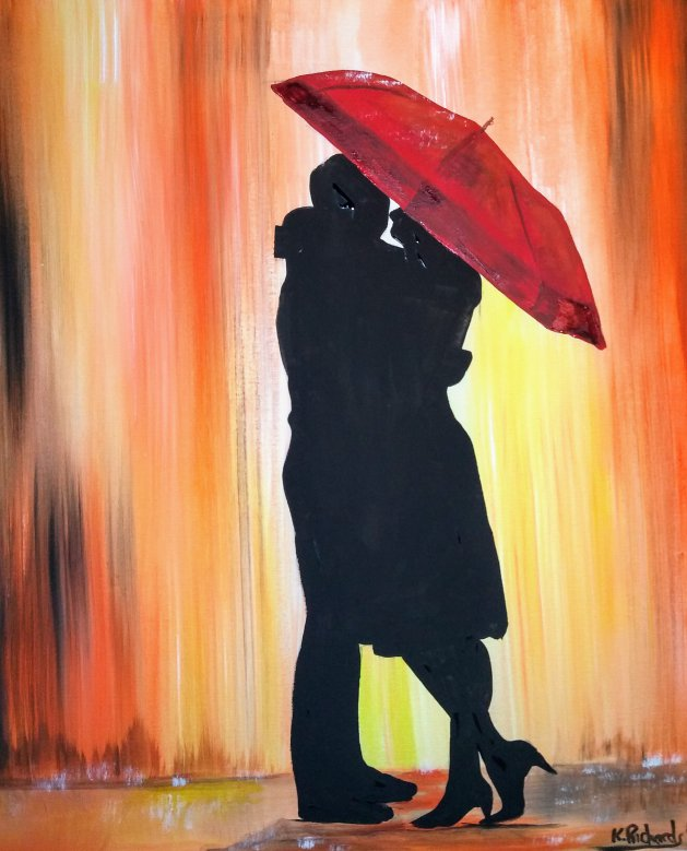 LOVE. Original art by Kevin Richards