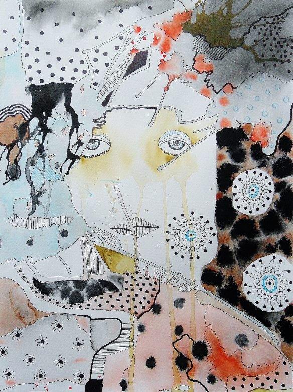 Imaginary Universe. Original art by Bea Roberts